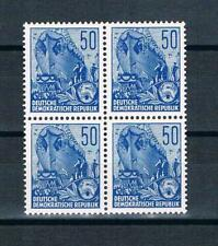 DDR Mi.nr. 584 B Viererblock,Freimarken:Fünfjahrplan,postfrisch
