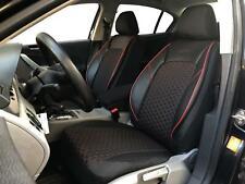 Sitzbezüge Schonbezüge für Seat Leon schwarz-rot V1623124 Vordersitze