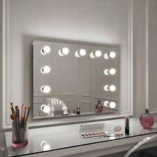 Hollywood Mirror Penelope illuminato Parete Specchio Paesaggio 60 x 80cm