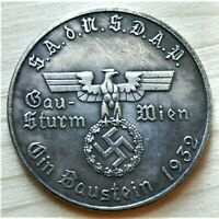 WW2 GERMAN COMMEMORATIVE COLLECTORS COIN 1932