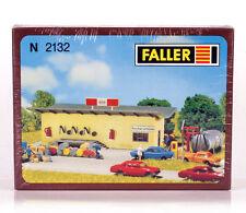 FALLER 2132 KIT N gauge GAS STATION , NEW NUE NUEUE