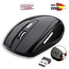 RATON COMPACTO INALAMBRICO OPTICO DE 2,4 GHZ MOUSE RECEPTOR USB PC INALÁMBRICO