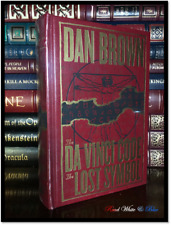 The Da Vinci Code by Dan Brown New Sealed Leather Bound Deluxe Gift Edition