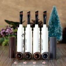 2 in1 Pro Makeup Natural Long Lasting Eyebrow Eyelashes Tint Pen Kit Set Beauty