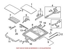 For BMW Genuine Sunroof Seal 54137064664