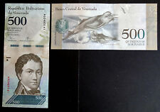 VENEZUELA. Billete 500 Bolívares (2016) S/C - UNC Banknote