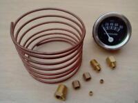 Ford Tractor Oil Pressure Gauge Copper Line Kit - 6 ' 1/8'' line