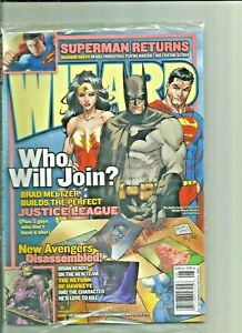 WIZARD Best of 2005 and JLA who will Join  2 Brand new Comics Magazines