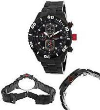 NEW Red Line RL-50040-11-BB Men's Simulator Black Subdials Tachymeter Ion Watch