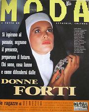 MODA 93 1992 Claudia Schiffer Anne Parillaud Demi Moore Patsy Kensit Eva Robin's