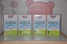 *HiPp-Uk-800g-4-Boxes-Org anic-Combiotic-First-Infan t-Milk-Stage-1- Exp 5/2020