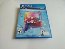 SingStar Celebration (Sony PlayStation 4, 2017) NEW NO PLASTIC WRAP PS4