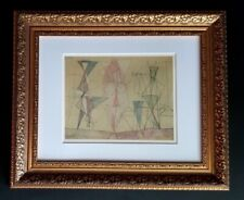 PABLO PICASSO ORIGINAL 1956 BEAUTIFUL SIGNED PRINT MATTED 11 X 14 + RESALE  $750