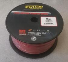 Soundquest 8 Gauge Car Audio Power Cable 250 Foot 72 Meter Drum Roll BULK