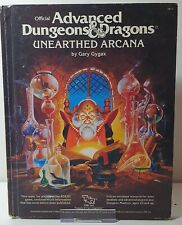 Advanced Dungeons & Dragons - Unearthed Arcana & Manual of the Planes