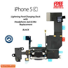 **NEW** Replacement Lightning Port/Charging Dock Assembly FOR iPhone 5C - BLACK