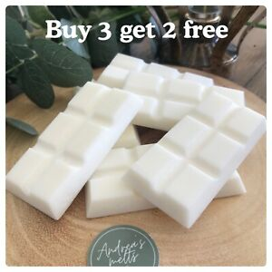SOY WAX MELTS (BARS)🧡BUY 3 GET 2 FREE🧡HANDMADE🧡HIGHLY SCENTED MELTS🧡