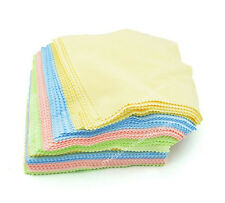 100Pcs Microfiber Phone Screen Cleaning Cloth Camera Lens Glasses Cleaner Square