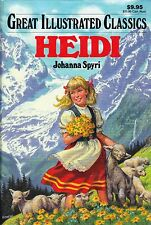 """""""Heidi"""" Great Illustrated Adapted Version of Classic for Younger Readers"""