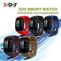 XGODY Smart Watch Sleep Monitor Heart Rate Tracker Fitness Wristband for IOS HTC