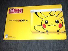 Nintendo 3DS XL Pikachu Pokermon Edition Yellow Handheld System