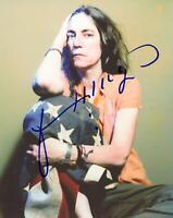 """Patti Smith """"Horses"""" AUTOGRAPH Signed 8x10 Photo ACOA"""