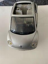 Silver Barbie Volkswagen Beetle Mattel