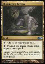 MTG 2x SHIMMERING GROTTO - GROTTA SCINTILLANTE - M14 - MAGIC