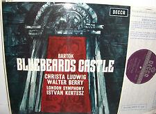 DECCA SET 311 bartok bluebeard's Castle Ludwig Berry Kertesz Presque comme neuf rainuré à large bande