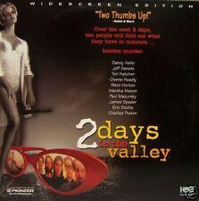 2 DAYS IN THE VALLEY  LASERDISC LD NTSC   AC-3