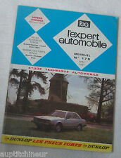 Revue technique L'EXPERT AUTOMOBILE n° 176 1981 Honda accord (modeles 1979)
