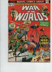 Amazing Adventures/War of the Worlds #20 (Marvel 1973)FN+
