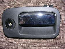 JAGUAR S TYPE GLOVE BOX HANDLE / LATCH 2R83 F06004 BLACK WITH CHROME HANDLE
