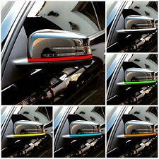 Mercedes AMG Wing Mirror Stripes Decals Graphics A B C E CLA CLS 63 45 W Class
