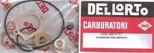 Dellorto VHBZ carburetor gasket set 1973-on Benelli Sei w/linked carbs 52511-77