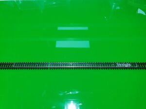 Set of 9 N gauge track setting jigs