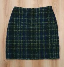 HOBBS Wool Check Skirt. Size 10