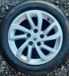 """RENAULT MEGANE MK3 16"""" ALLOY WHEEL AND TYRE X1 FULL SIZE SPARE"""