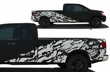 Custom Vinyl Graphic Decal Nightmare Wrap Kit for Nissan Titan Truck 04-13 WHITE