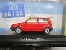 FIAT Uno Turbo EF 1990 Sport red rot Argentina Atlas IXO Altaya SP 1:43