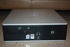 HP Compaq dc5800 SFF PC Windows 7 Pro Intel Core 2 Duo E7200 2.53GHz Office 2010