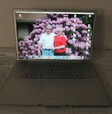 """Apple Powerbook G4 17"""" Laptop - Works!"""
