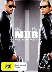 Men In Black II (DVD, 2012) Region 4 - Will Smith, Tommy Lee Jones, Rip Torn