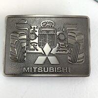 Mitsubishi Farm Tractor Belt Buckle Great Shape