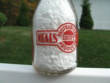 TRPQ RED COLOR NEALS DAIRY FARMS DAYTON OHIO