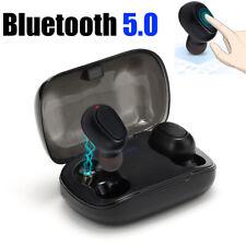 TWS Wireless Bluetooth 5.0 Earphone Earbuds Stereo Headphone Headset Waterproof