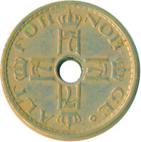 COIN / NORWAY / 50 ORE 1927      #WT6071