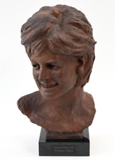 PRINCESS DIANA LIFE SIZE BUST TERRACOTTA SCULPTURE 1 of a KIND by D.MAZZONE 1997