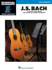 J.S. Bach - 15 Pieces Arranged for Three or More Guitarists - Music Book