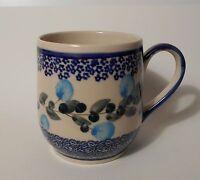 Unikat Schöne Kaffee / Tee Tasse aus Bunzlauer Keramik; 300ml (*4205)
